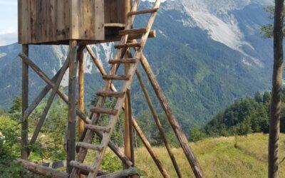 Izdelave in in obnove prež v lovišču